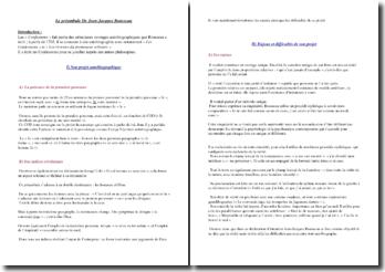 Les Confessions (Jean-Jacques Rousseau) : autobiographie et justification