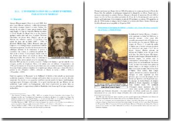 Orphée ou Jeune fille thrace portant la tête d'orphée (Gustave Moreau)