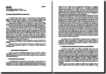 Le cautionnement : commentaire de l'article 2292 du Code civil