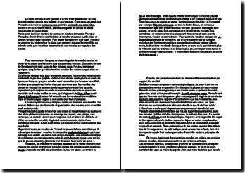 Dissertation sur les morales des contes de Perrault