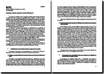 La lettre de change : commentaire de la décision de Chambre commerciale du 13 octobre 1992