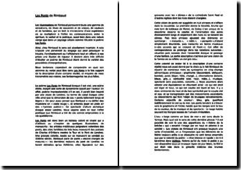 Les Ponts de Rimbaud (commentaire composé)
