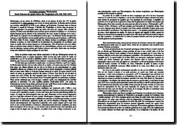 Montesquieu, Lettres Persanes, Etude littéraire des quatre lettres des Troglodytes