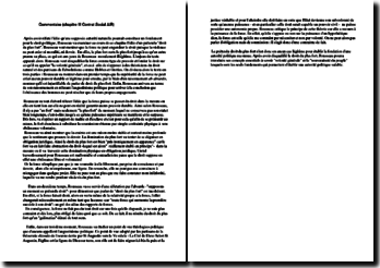 Rousseau, Du Contrat social, Livre I, Chapitre III