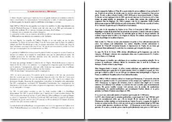 La radicalisation de la République en France