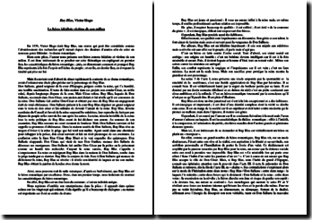 Victor Hugo, Ruy Blas : le héros idéaliste victime de son milieu