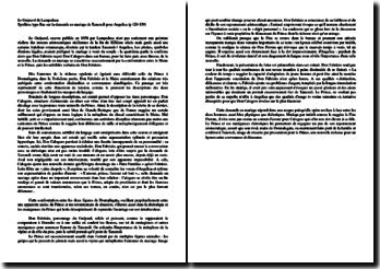 La demande en mariage de Tancredi dans Le Guépard de Lampedusa