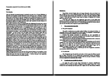 Kafka, Lettre au père : commentaire composé d'un extrait