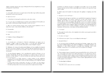 Diderot, Supplément au Voyage de Bougainville : analyse du chapitre 1