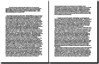 La poésie selon Claudel : Réflexions poétiques, 1927