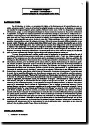 Article Christianisme de L'Encyclopédie des Lumières : commentaire composé