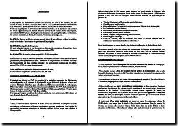 Diderot et d'Alembert, L'Encyclopédie