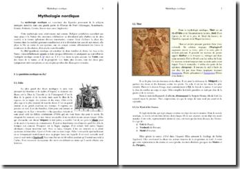 Initiation à la mythologie nordique