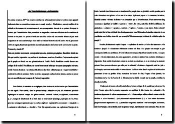Baudelaire, Le Vieux Saltimbanque, tiré de Petits poèmes en prose