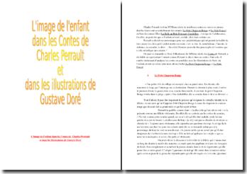 L'image de l'enfant dans les Contes de Charles Perrault et dans les illustrations de Gustave Doré