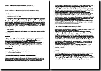 Diderot, Supplément au Voyage de Bougainville, Chapitre 1