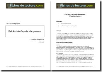 Guy de Maupassant, Bel-Ami, Partie 1, Chapitre 1