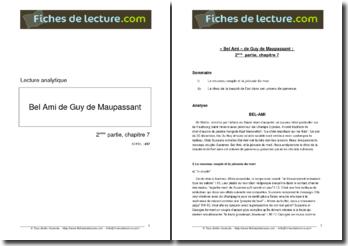 Guy de Maupassant, Bel-Ami, Partie 2, Chapitre 7