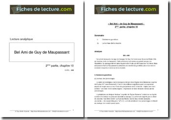 Guy de Maupassant, Bel-Ami, Partie 2, Chapitre 10