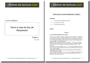 Guy de Maupassant, Pierre et Jean, Chapitre 1