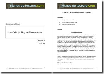 Guy de Maupassant, Une Vie Chapitre 6