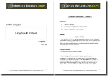 Voltaire, L'Ingénu, Chapitre 1