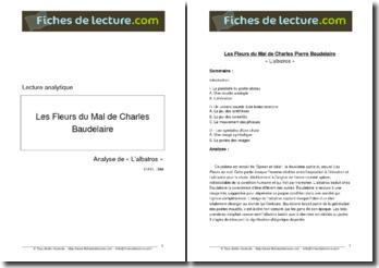 Baudelaire, L'Albatros, tiré de Les Fleurs du Mal