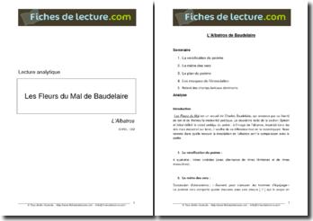 Baudelaire, L'Albatros, tiré du recueil Les Fleurs du Mal