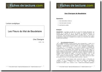 Baudelaire, Une Charogne, tiré de Les Fleurs du Mal