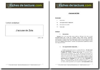 Emile Zola, J'accuse