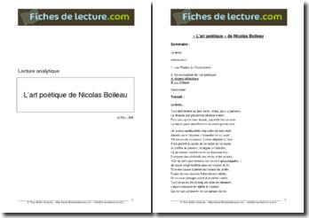 Boileau, L'Art Poétique : Chant I (v45-98)