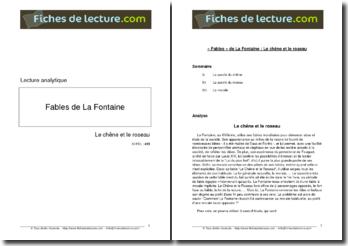 La Fontaine, Fables, Le Chêne et le Roseau