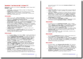 Baudelaire, Le Cygne (II) : étude linéaire