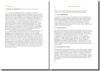 Chateaubriand, Mémoires d'outre-tombe, Extrait du chapitre 4 du livre III