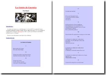 Paul Eluard, La victoire de Guernica