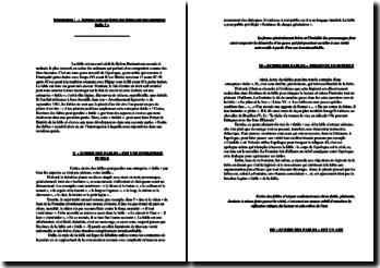 dissertation fable entreprise futile