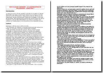Carrière, La Controverse de Valladolid, Chapitre 7