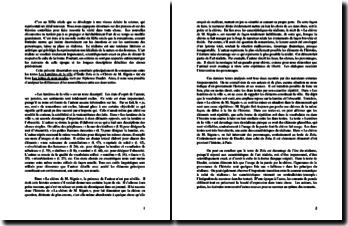 Dissertation comparative des textes de Zola et de Daudet