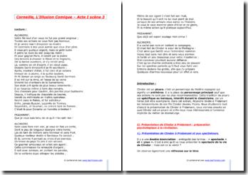 Corneille, L'Illusion Comique, Acte I Scène 3