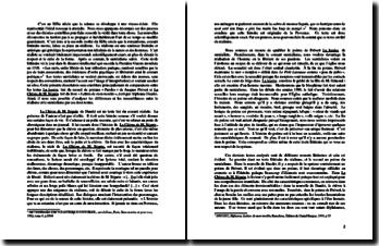 Dissertation comparative entre les textes La lessive de Prévert et La chèvre de M. Seguin de Daudet