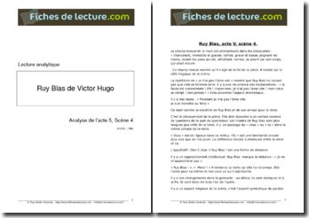 Hugo, Ruy Blas, Acte V scène 4