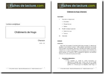 Hugo, Les Châtiments, Chanson