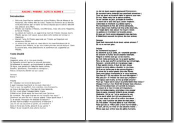 Racine, Phèdre, Acte IV scène 6