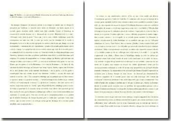 Camus, La Peste, dissertation sur la transposition littéraire