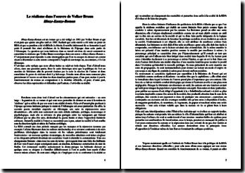Volker Braun, le réalisme dans le Hinze-Kunze-Roman