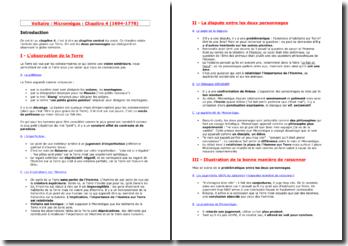 Voltaire, Micromégas, Chapitre 4