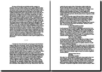Dissertation sur les Amours de Ronsard (sujet du concours d'entrée à l'ENS 2007)