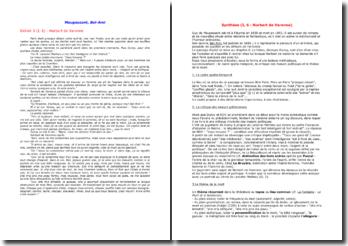 Maupassant, Bel-Ami, Partie I chapitre 6 : Norbert de Varenne