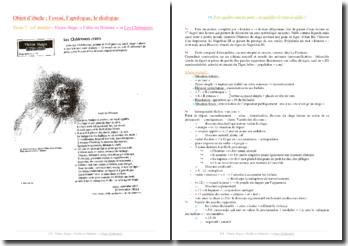 Victor Hugo, Les Châtiments, Fable ou Histoire