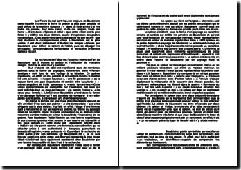 Le spleen et l'idéal pour Baudelaire dans son oeuvre Les Fleurs du Mal